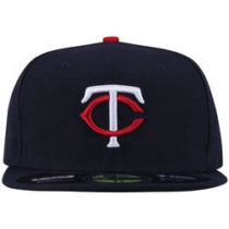 Bone Aba Reta New Era Minnesota Twins Fechado Adulto Az 570be6231e1