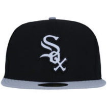Bone Aba Reta New Era Chicago White Sox Adulto Preto 4b11585cea4