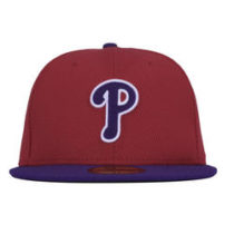 Bone Aba Reta New Era Philadelphia Phillies Mlb Fechado 2251a5636d0