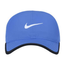 Bone Nike Featherlight Strapback Adulto Azul e Branco dab122e5082